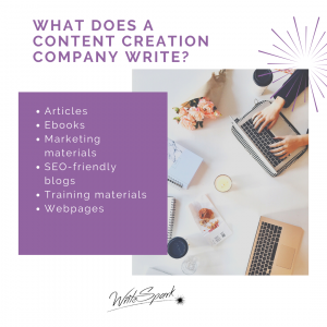 What is a content creation company
