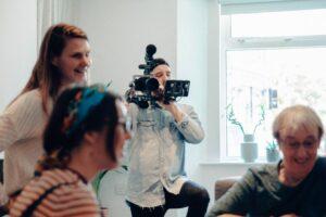 making a film